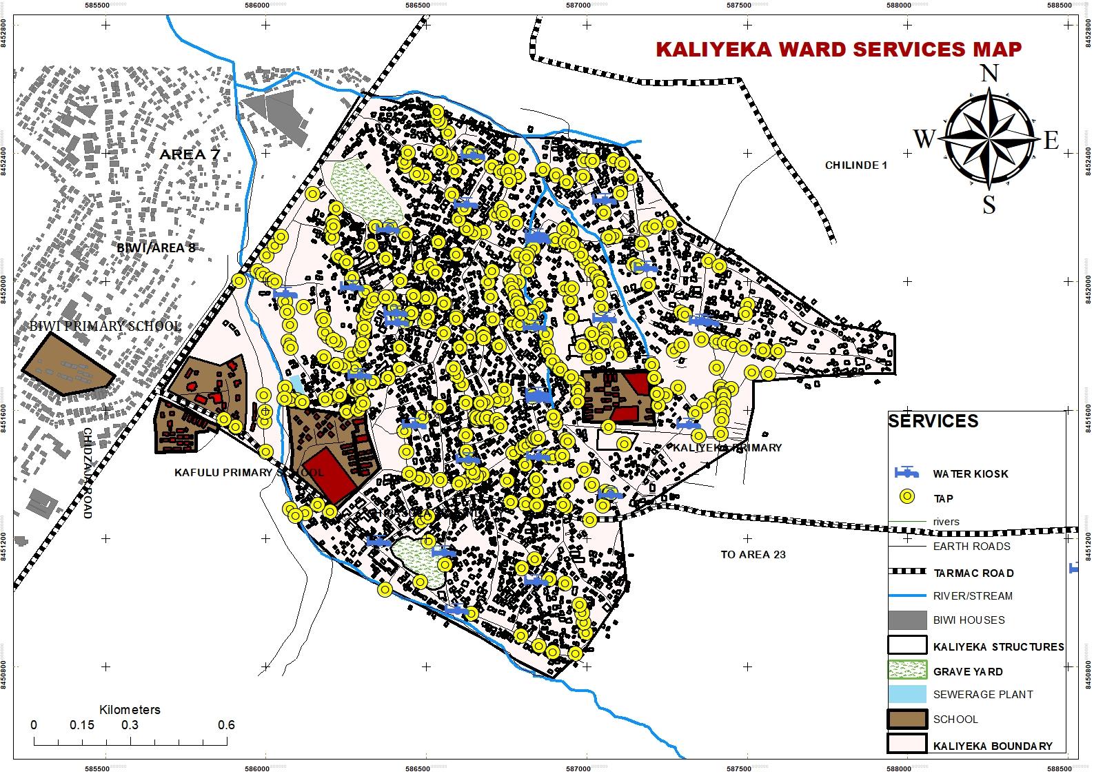 KALIYEKA SERVICES MAP-COVID-19